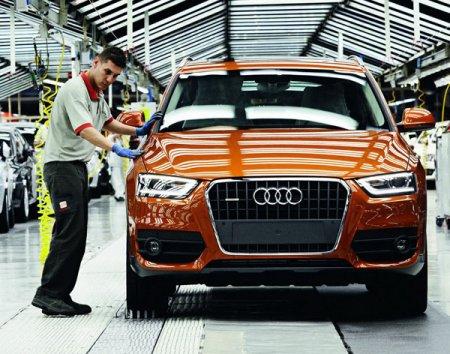 Audi Q3 - начало производства