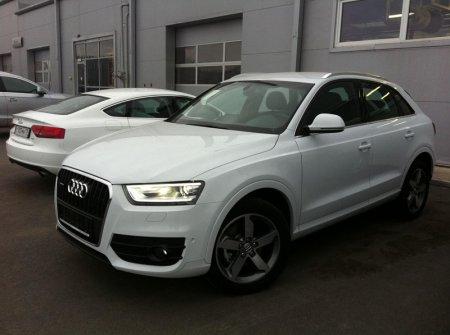 Audi Q3 у официальных дилеров